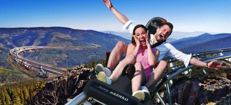 Nově otevřeno: Podívejte se, jak vypadá nejdelší horská dráha u nás! Říkají jí Mamutí