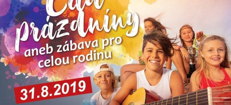 Kroměříž se bude loučit s prázdninami, v sobotu chystá festival pro celou rodinu