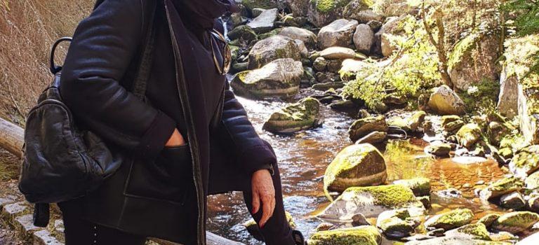 Petra Janů miluje šumavské lázně, vyšplhala i na Kašperský hrad