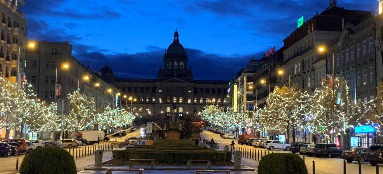 Vánočními trhy ožije i horní polovina Václavského náměstí, podpořit můžete neziskové organizace