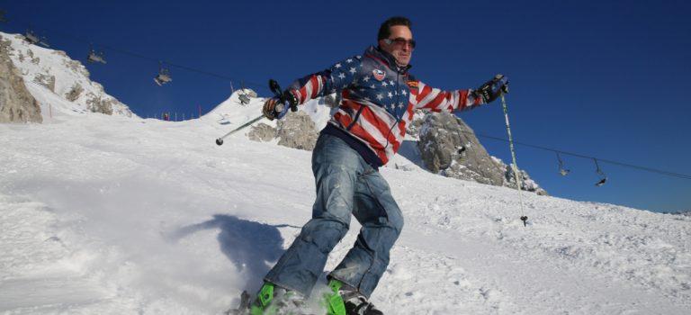 Martin Dejdar i Jan Čenský vyrazili na lyže do Rakouska. Nadchl je Nassfeld v Korutanech