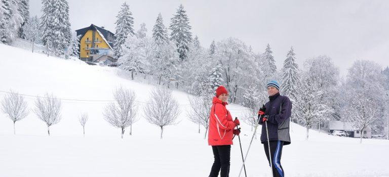 Běžkařský kemp v Beskydech nadchne zkušené lyžaře i začátečníky