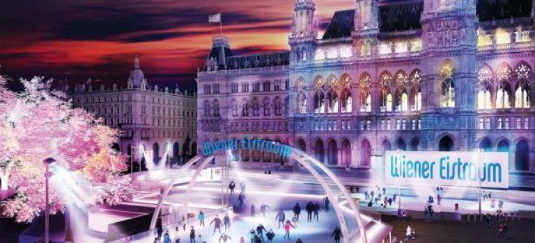 Tip pro milovníky bruslení: Ve Vídni začal Vídeňský ledový sen!