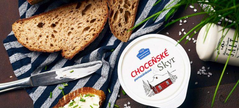 Bohušovický skyr se spojil s choceňským tradičním pomazánkovým