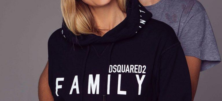 """Dsquared2 a Tereza Maxová společně uvádějí exkluzivní limitovanou charitativní kolekci """"We are Family"""""""