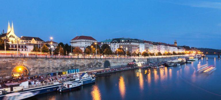 Pražské náplavky budou mít svoji turistickou známku