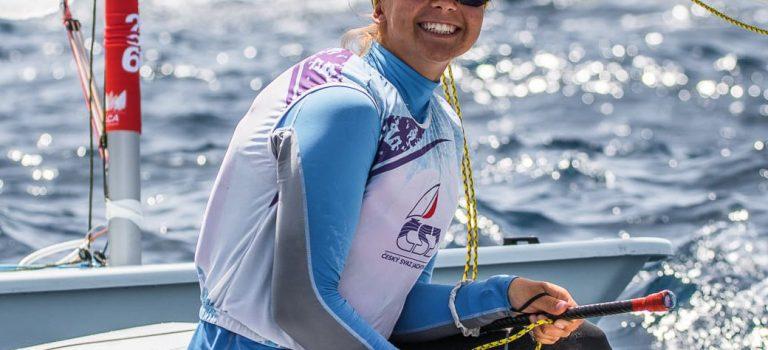 Alessia vede na juniorském mistrovství Evropy